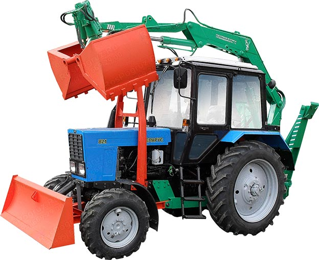 Тракторный прицеп 2ТСП-8 к тракторам МТЗ-82.